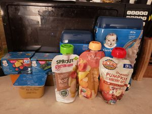 Free baby food for Sale in Dale, TX