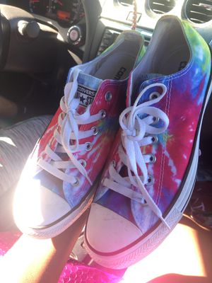 Colorful Converses Woman's Size 9 Men's Size 7 for Sale in Tampa, FL