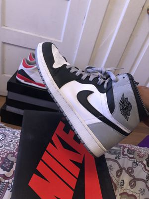 Nike air Jordan retro 1 sz 10.5 baron sz 10.5 worn for Sale in Signal Hill, CA