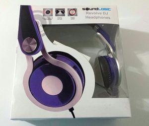 Soundlogic foldable DJ Headphones for Sale in Fairfax, VA
