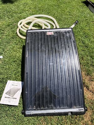 Solar pro curve pool heater for Sale in Fresno, CA