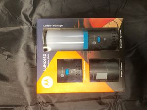Moto Lumo160 Bluetooth Speaker, lantern, power charger, flashlight for Sale in Huntington Beach, CA