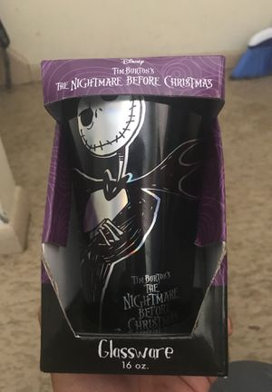 The Nightmare before Christmas cup for Sale in West Hartford, CT