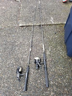 """5' 6"""" Fishing Rods both for $15 for Sale in Auburn, WA"""