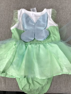 Disney Tinkerbell Costume plus size 5 shoes for Sale in Yorba Linda, CA