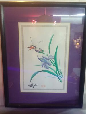 Asian Print painting for Sale in Mason City, IA
