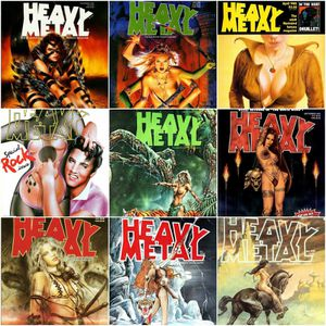 313 Digital Issues of Heavy Metal Magazine PDF on 3 DVD Discs iPad iPhone Tablet Android for Sale in Tempe, AZ
