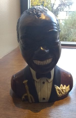 Vintage Louis Armstrong Claymark (Porcelain) Bust/Statue for Sale in Tempe, AZ