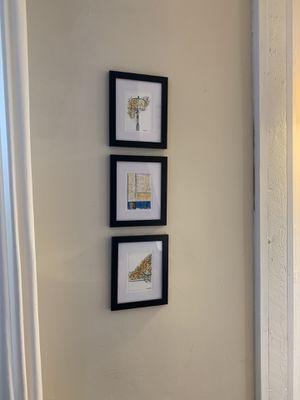 6 framed prints for Sale in Columbus, OH