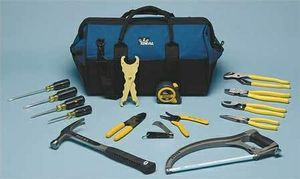 Ideal 35-808 Heavy Duty Electricians Tool Kit,16 Pc for Sale in Glenview, IL