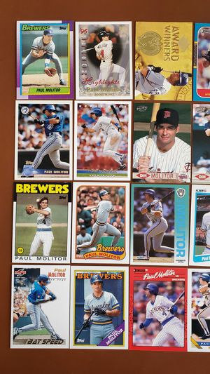 Baseball Cards - Paul Molitor for Sale in Noblesville, IN