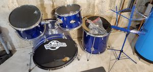Drums set with cymbals good parts for Sale in Haddam, CT