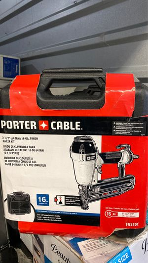 Porter Cable Nail Gun (16GA) brand new for Sale in Rockville, MD