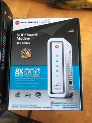 Motorola surfboard modem & wi-fi router / for Sale in Richmond, TX