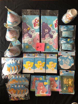 Care Bears party supplies for Sale in Long Beach, CA