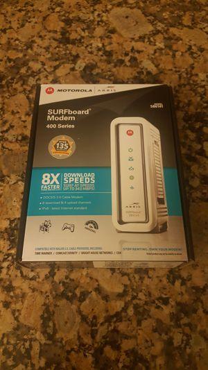 Motorola Asus router in box for Sale in Pembroke Pines, FL