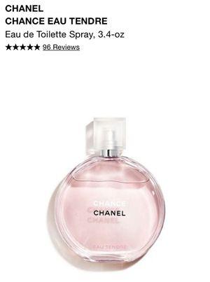CHANEL Chance Eau Tendre Perfume 3.4-oz for Sale in Phoenix, AZ