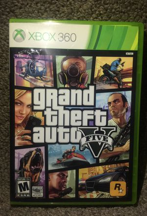 """""""Grand Theft Auto 5"""" for Microsoft Xbox 360 (Disc1 Like New Condition , Disc2 Good Condition!) for Sale in Phoenix, AZ"""