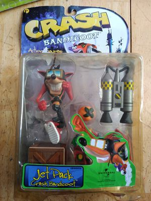 Crash bandicoot Vintage action figure for Sale in Commerce, CA