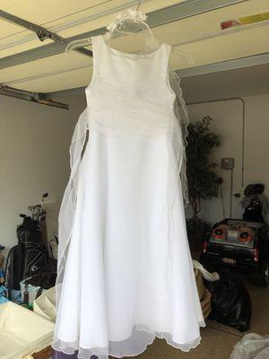 Communion / flower girl dress size 8 for Sale in Plainfield, IL