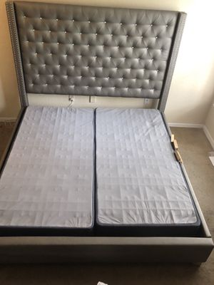King Size Bed -Box Springs included. MOVING! for Sale in TEMPLE TERR, FL