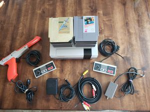 Nintendo with 10 games for Sale in Glen Raven, NC