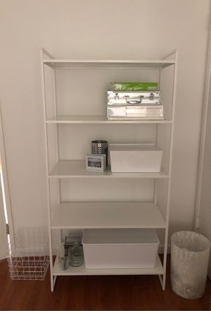 IKEA white jonaxel shelf for Sale in Los Angeles, CA