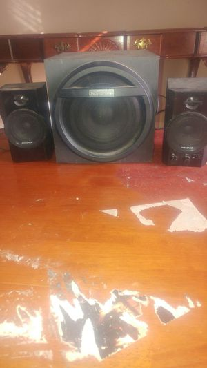 Insignia Bluetooth/Aux speakers for Sale in Little Rock, AR