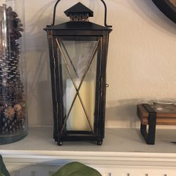 Brass Lantern For Sale. Candle Not Included ! for Sale in McKinney,  TX