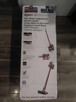 Dyson 6V Absolute HEPA Filter Cordless Vacuum New (Firm) for Sale in Gardena, CA