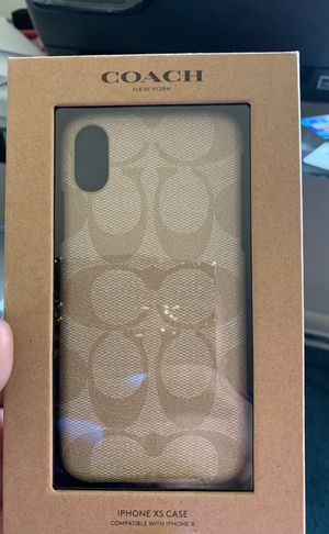 Case for iphone sx Authentic coach brand. for Sale in Washington, DC