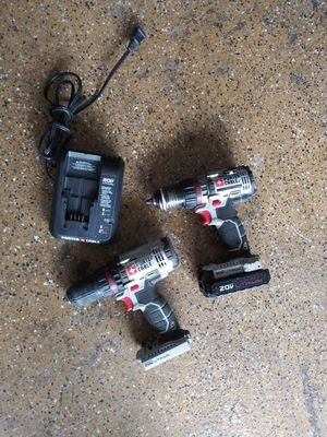 Poter cable 20 volt drills for Sale in Lake Elsinore, CA