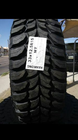 MONKEY wheels and tires 33 1250 15 for Sale in Phoenix, AZ