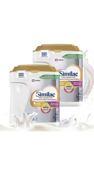 Similac Pro-Sensitive HMO Infant Formula 34 oz, 2-count for Sale in Brooklyn, NY