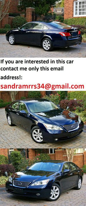 Non-smoker2007 Lexus ES-350 No accidents for Sale in Raleigh, NC