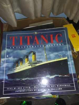 3 books for sale Titanic and then burger and 1,000 reasons to like baseball $5 each or best offer for Sale in Yardley, PA