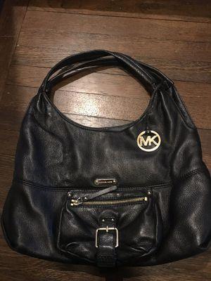 Michael Kors black leather purse for Sale in Fairview Park, OH