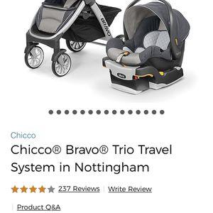 Chicco Bravo Trio Travel System in Nottingham for Sale in Atlanta, GA