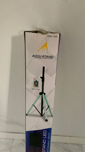 Accu stand color speaker stand LED for Sale in Brunswick, OH