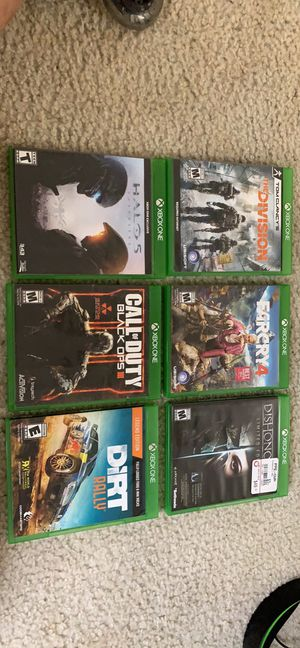 Xbox one games for Sale in Jacksonville, NC