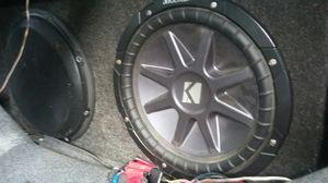 """2 12""""in subwoofers for Sale in Frostproof, FL"""