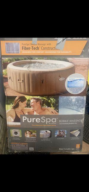 *PREMIUM MODEL*Intex 4-Person PureSpa Bubble Massage Inflatable Hot Tub Spa for Sale in Boston, MA