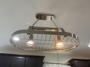 Brushed Nicked Light Fixture for Sale in Pataskala, OH