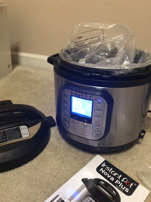 Instant Pot 9 en 1 nova plus for Sale in Clovis, CA