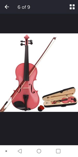 Red violin new for Sale in West Haven, CT