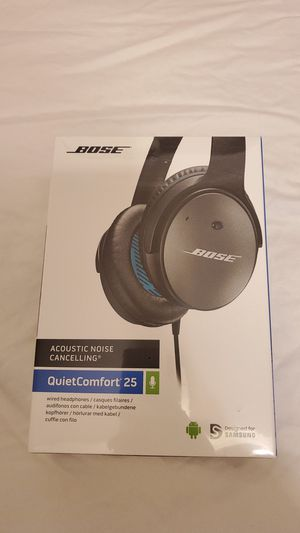 NEW Bose QuietComfort 25 Wired Headphone Acoustic Noise Canceling for Sale in Fullerton, CA