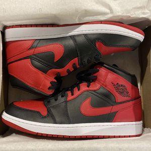 "Air Jordan 1 Mid ""Banned"" Sz 12 for Sale in Philadelphia, PA"