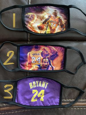 Kobe Bryant Face Mask for Sale in Durham, NC