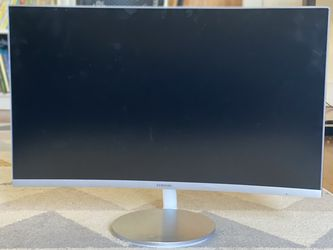 "Samsung 27"" Curved Monitor for Sale in Seattle,  WA"