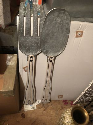 Wall Hanging Fork And Spoon Set for Sale in Boston, MA